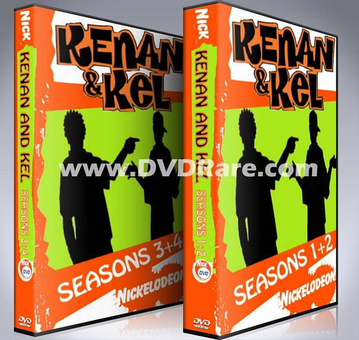 Kenan and Kel DVD - 4 Seasons Box Set - Nickelodeon